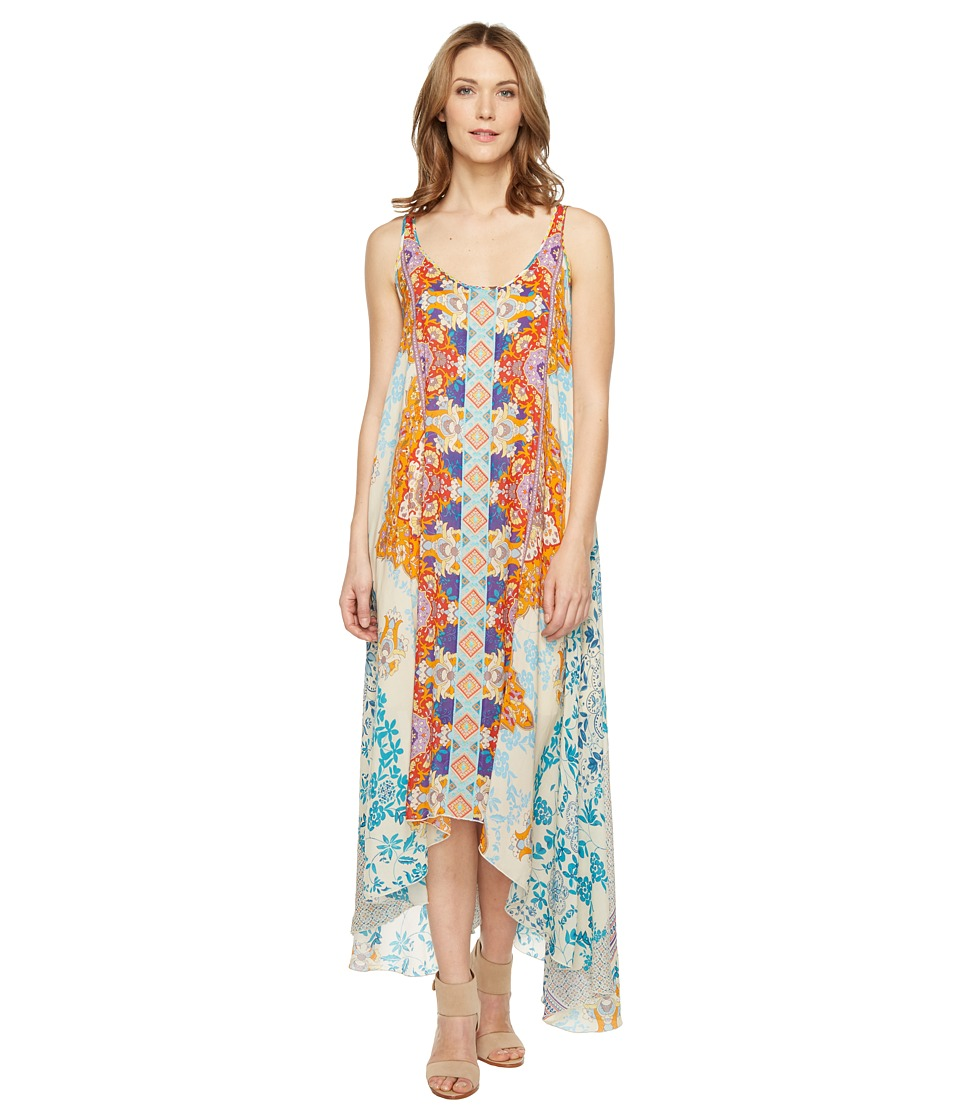 Johnny Was - Ellyo Handkerchief Dress (Multi A) Women's Dress