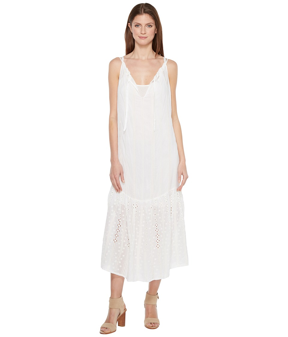 Johnny Was - Eesha Dress w/ Slip (White) Women's Dress