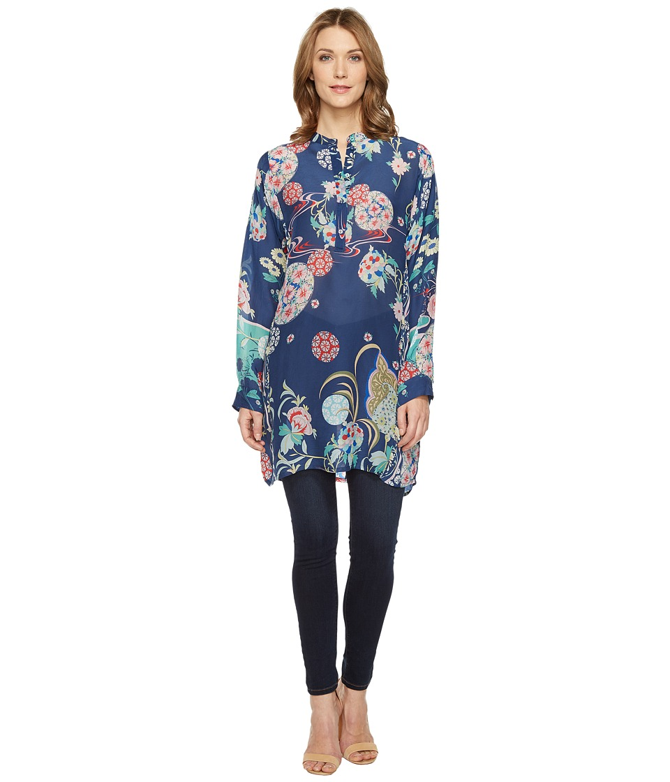 Johnny Was - Ellyonora 1/2 Placket Tunic (Multi B) Women's Blouse