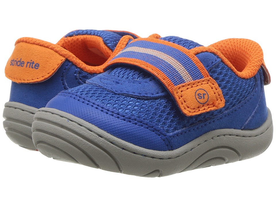 Stride Rite - Jessie (Infant/Toddler) (Blue) Boy's Shoes