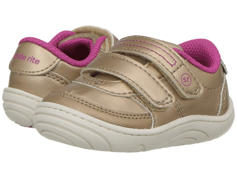 Stride Rite - Kyle (Infant/Toddler) (Champagne) Girl's Shoes