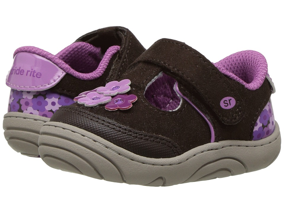 Stride Rite - Baylyn (Infant/Toddler) (Brown) Girl's Shoes