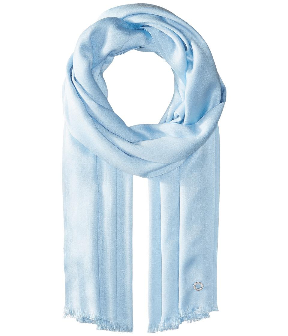 Calvin Klein - Solid Satin Finish Pashmina (Serene) Scarves