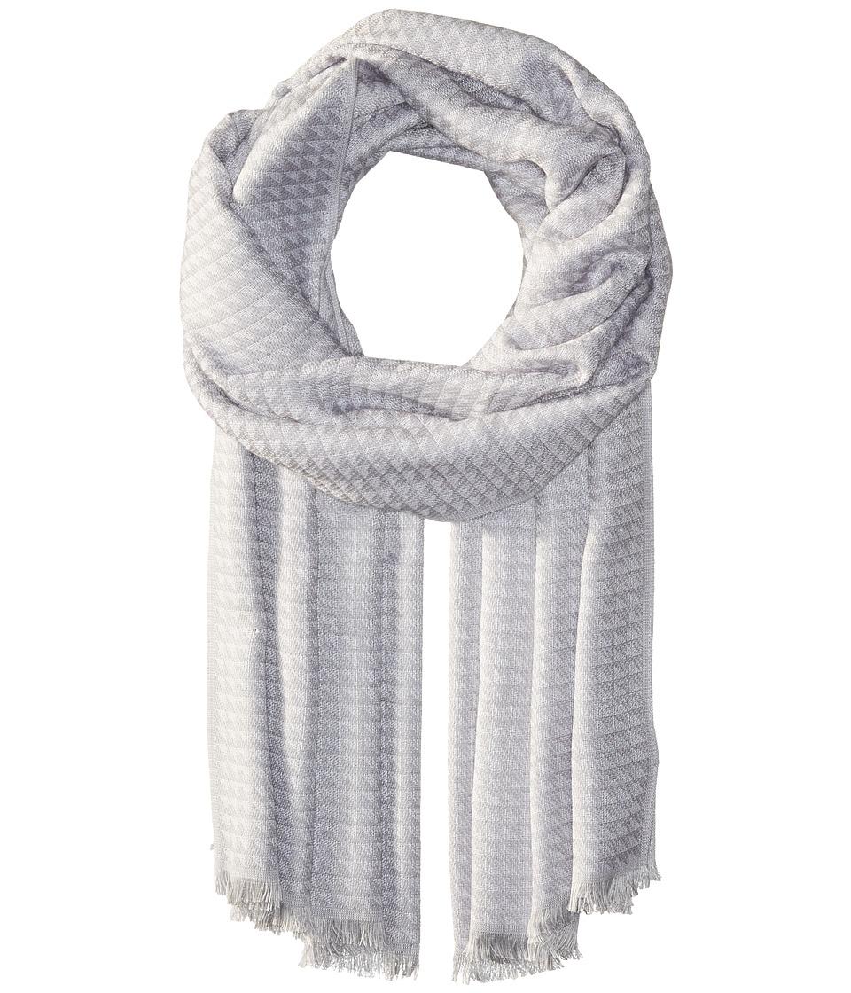 Calvin Klein - Yarn-Dye Pashmina (Grey) Scarves