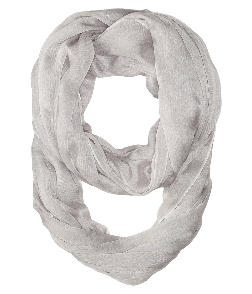 Calvin Klein - Solid Chambray Infinity (Grey) Scarves