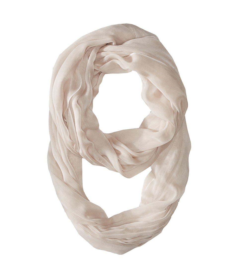 Calvin Klein - Solid Chambray Infinity (Latte) Scarves