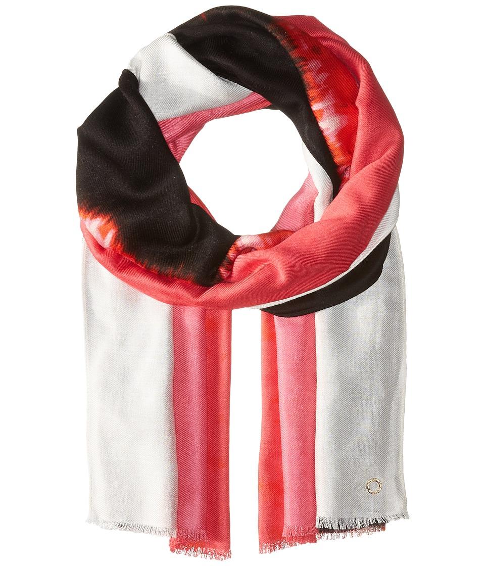 Calvin Klein - Printed Pashmina (Watermelon) Scarves