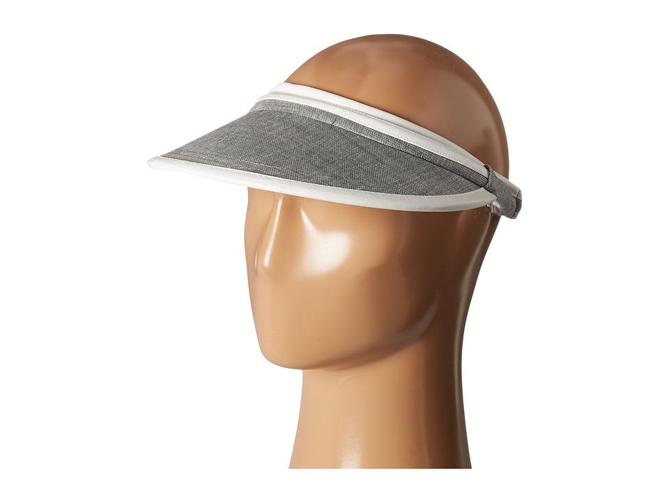Calvin Klein - Chambray Visor (Grey) Casual Visor