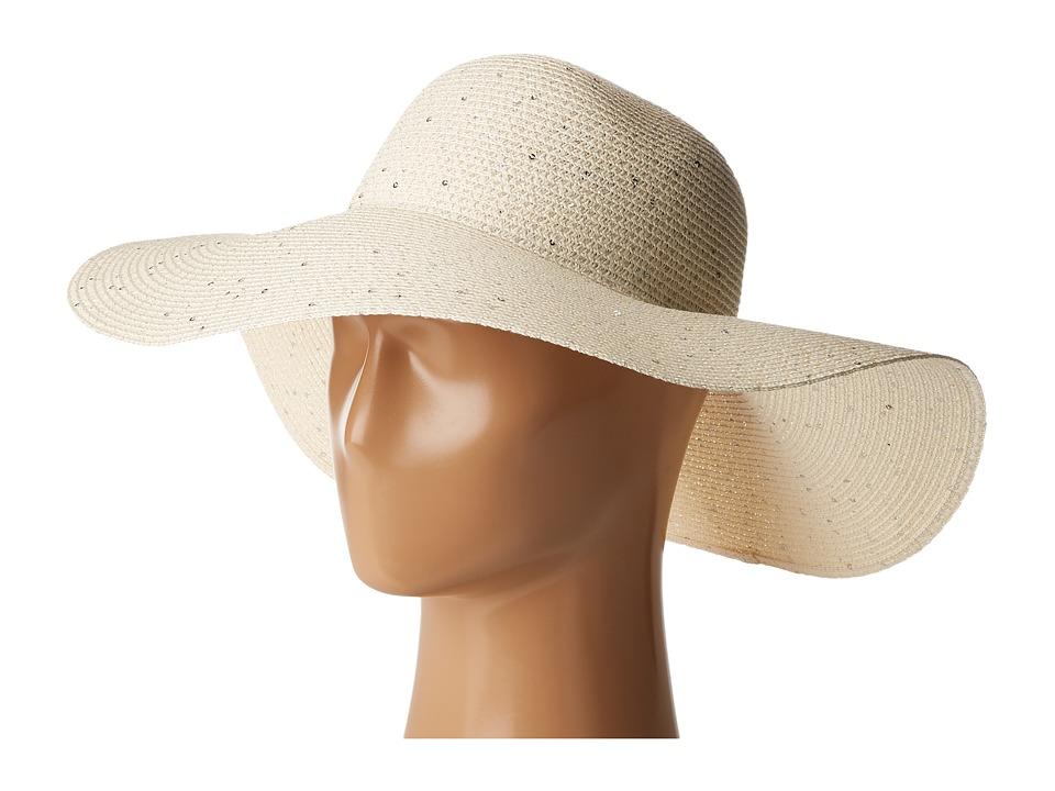 Calvin Klein - Sequin Straw Hat (Ivy) Caps