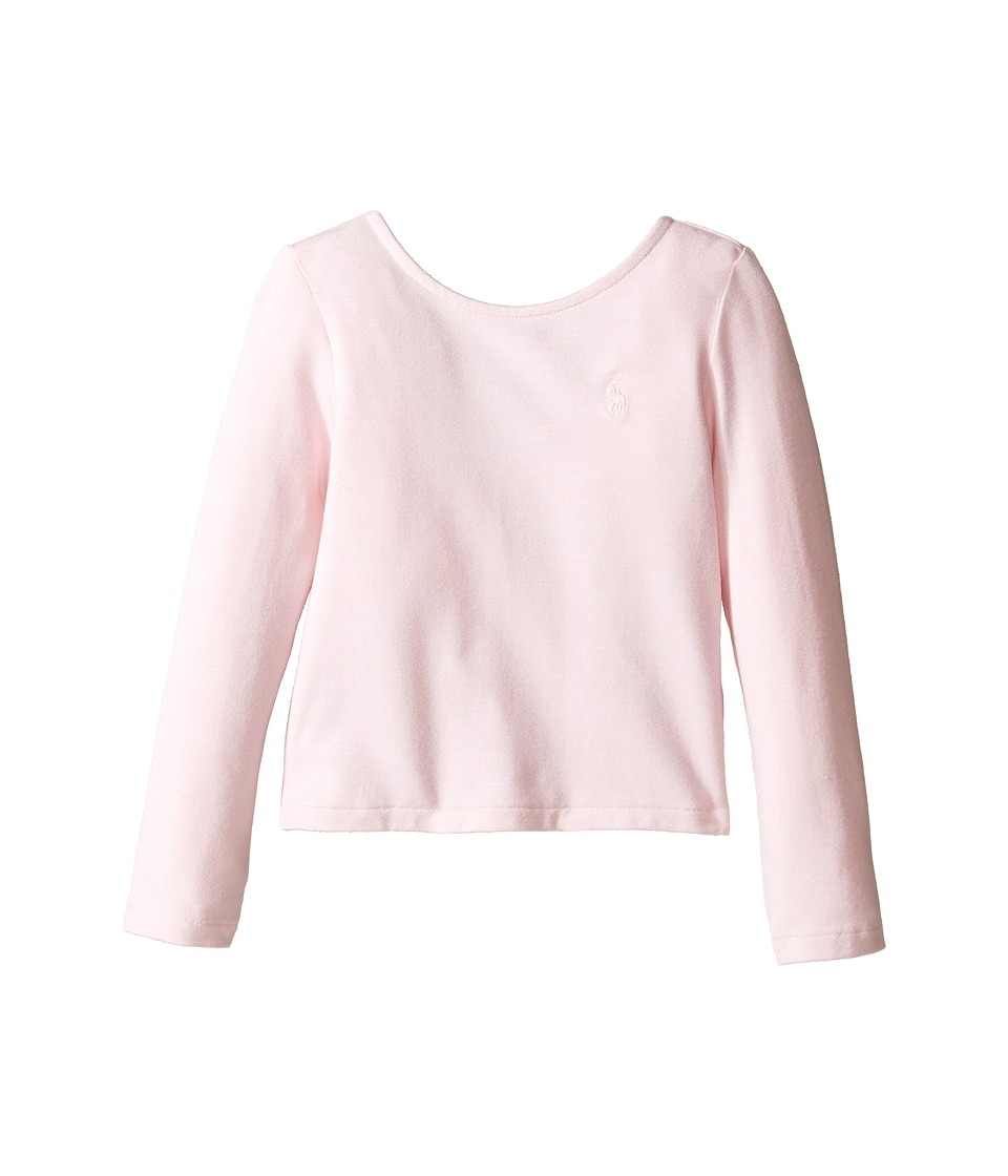 Polo Ralph Lauren Kids - Cotton Scoop Knit Top (Toddler) (Hint Of Pink) Girl's Clothing