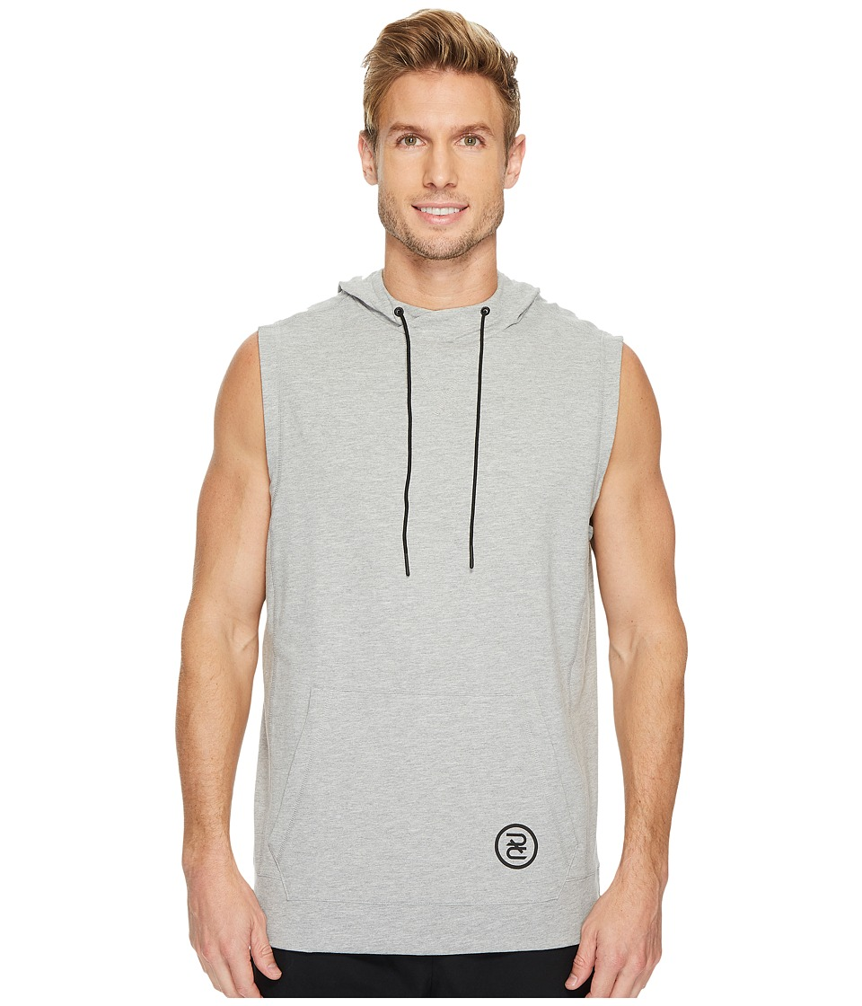 Reebok - Train Like A Fighter Sleeveless Hoodie (Medium Grey Heather) Men's Sweatshirt