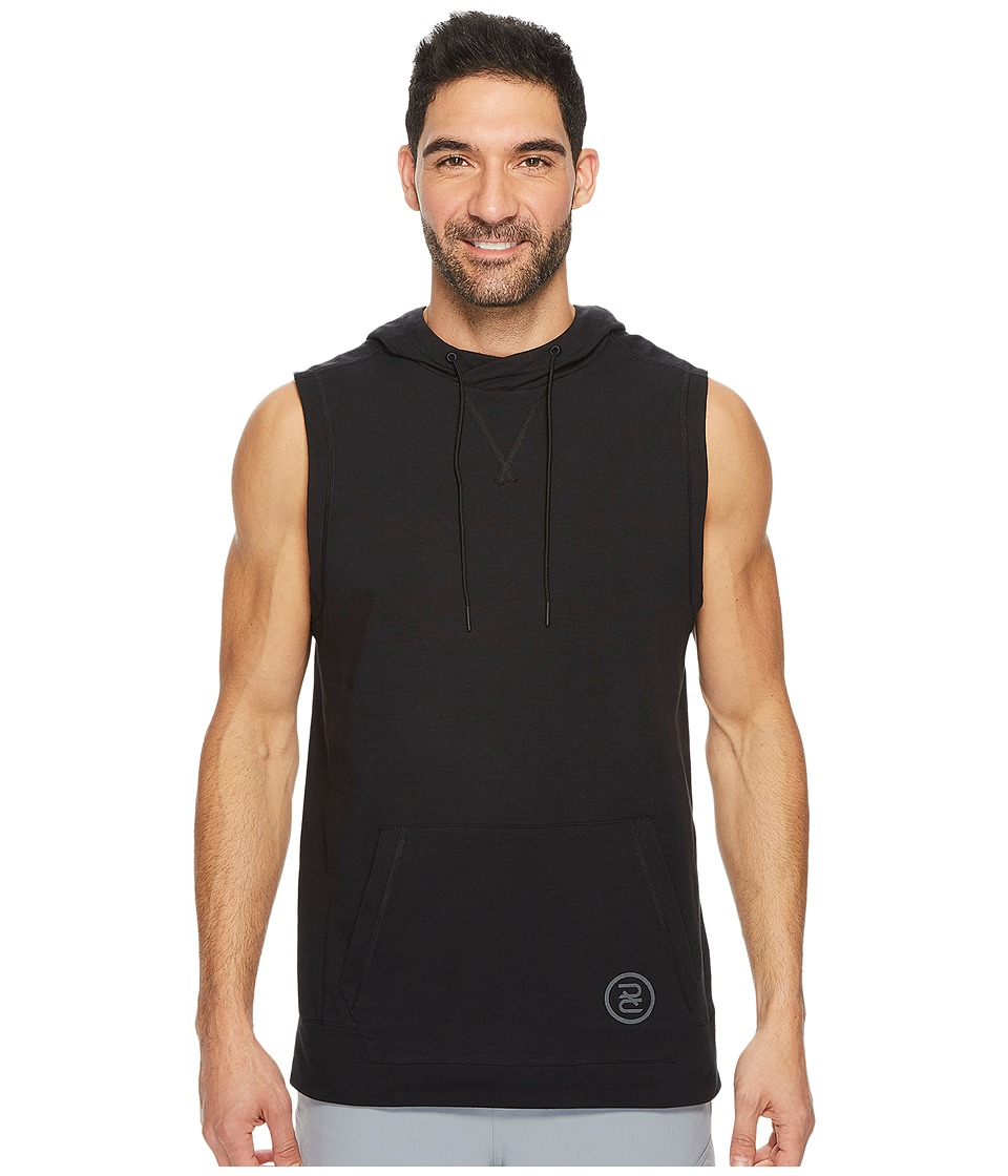 Reebok - Train Like A Fighter Sleeveless Hoodie (Black 2) Men's Sweatshirt