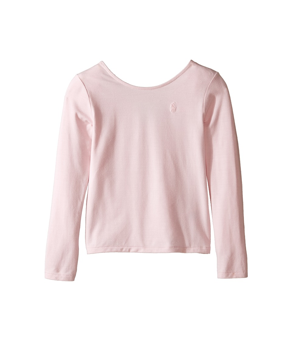 Polo Ralph Lauren Kids - Cotton Scoop Knit Top (Little Kids) (Hint Of Pink) Girl's Clothing