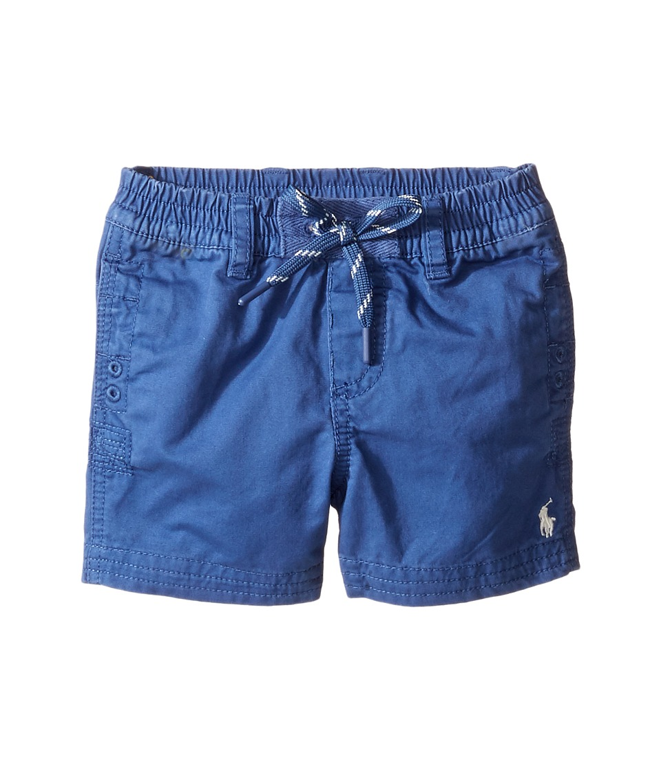 Ralph Lauren Baby - Broken Twill Relaxed Shorts (Infant) (Sporting Blue) Boy's Shorts