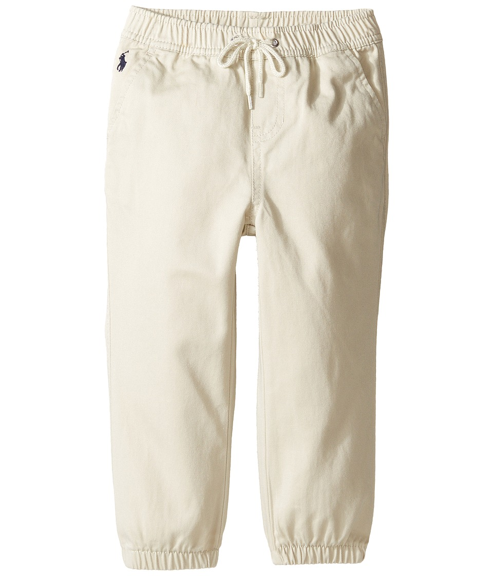 Ralph Lauren Baby - Broken Twill Jogger Pants (Infant) (Basic Sand) Boy's Casual Pants