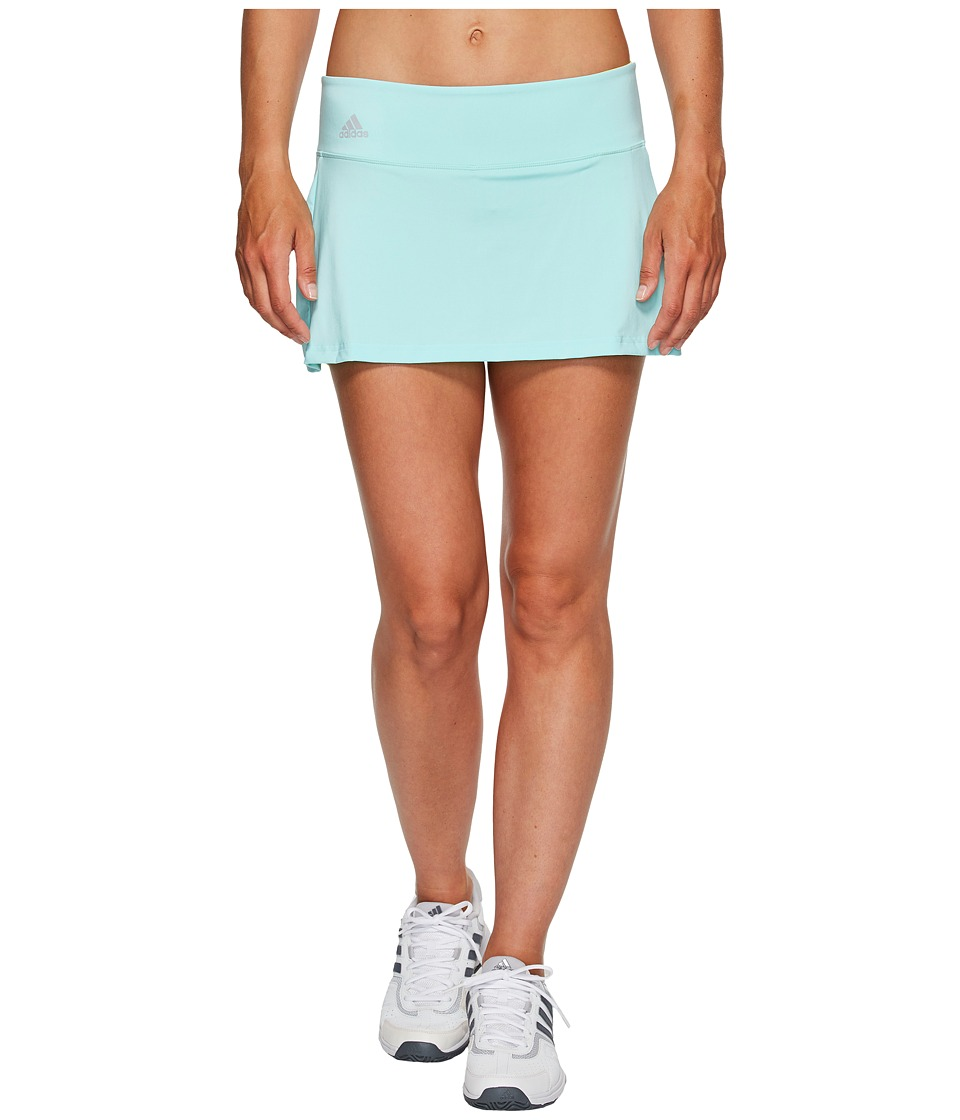 adidas - Essex Skort (Energy Aqua/Bright Yellow/Clear Onix) Women's Skort