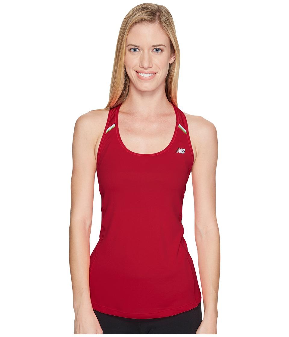 New Balance - NB Ice Tank Top (Alpha Pink) Women's Sleeveless
