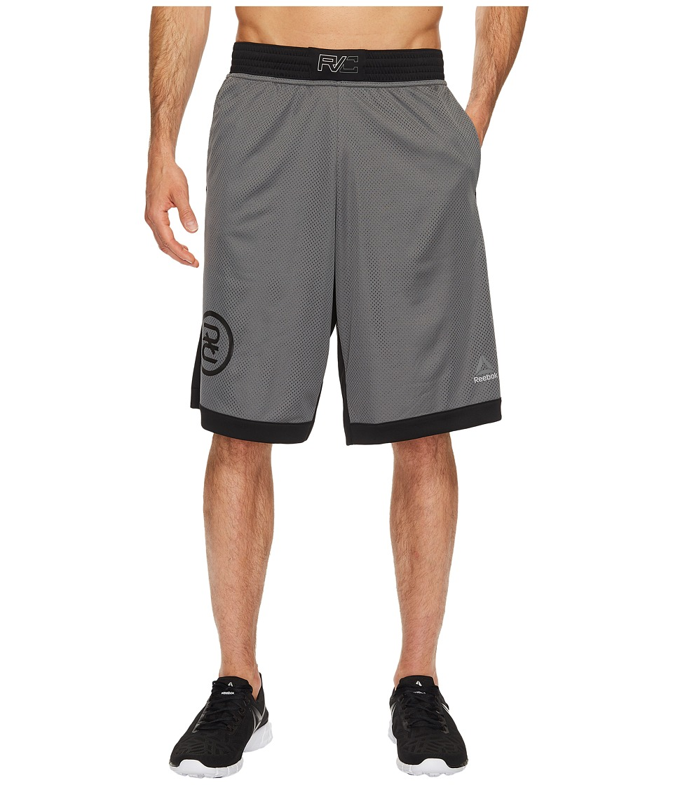 Reebok - Combat Boxing Shorts (Ironstone) Men's Shorts