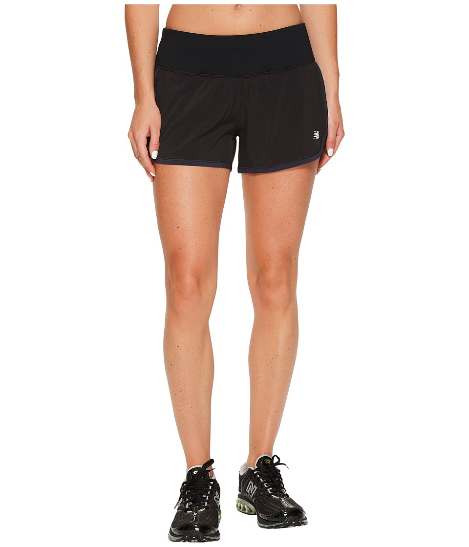 New Balance - Impact 3 Shorts (Black) Women's Shorts