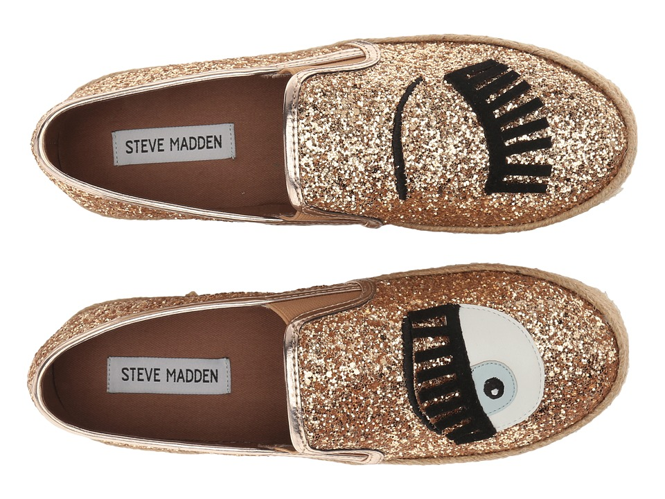 Steve Madden - Hide (Gold Glitter) Women's Shoes