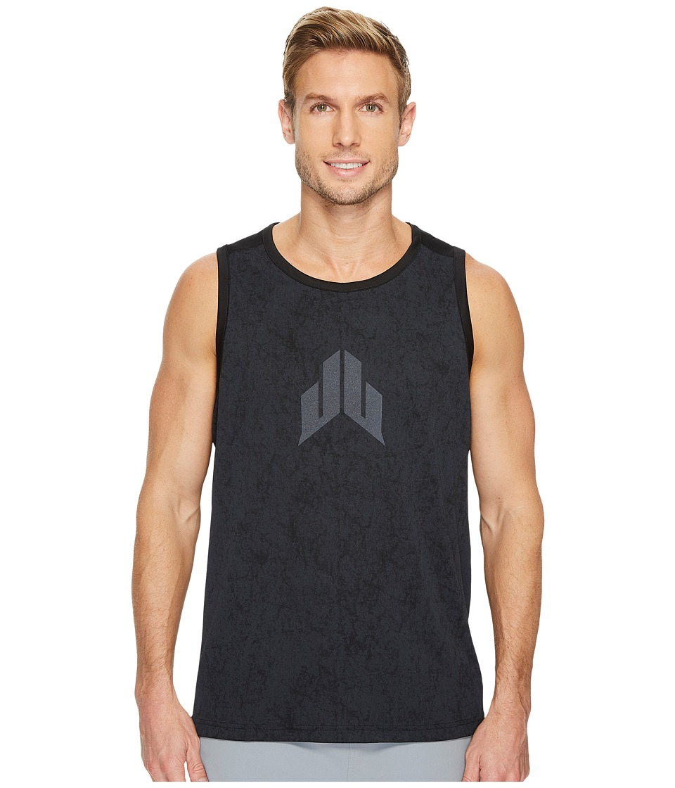 Reebok - J.J. Watt Sleeveless Tank (Black) Men's Workout
