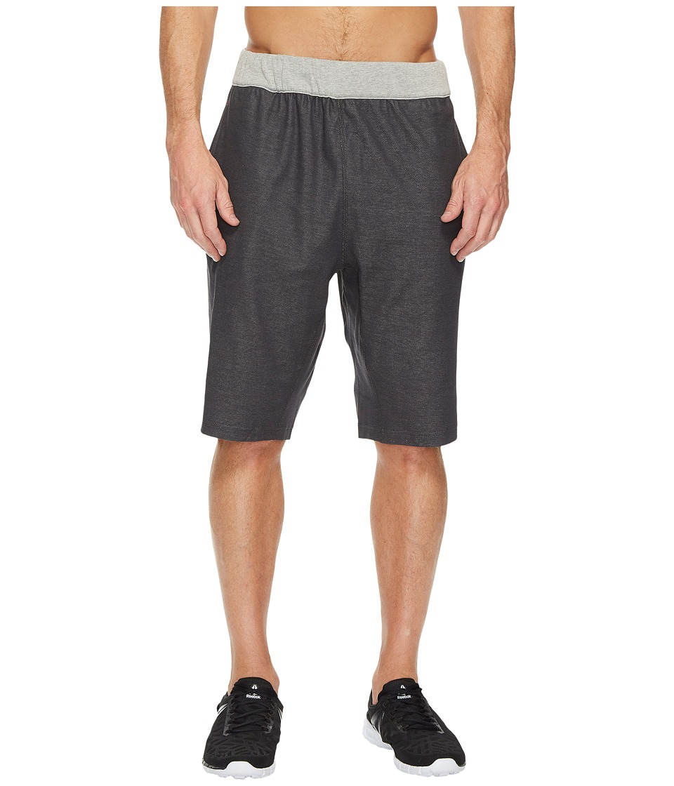 Reebok - J.J. Watt Performace Shorts (Dark Grey Heather) Men's Shorts