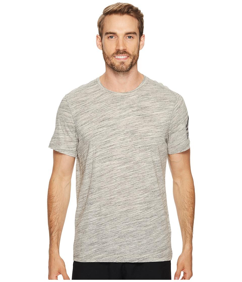 Reebok - El Prime Group Marble Melange Tee (Chalk) Men's T Shirt
