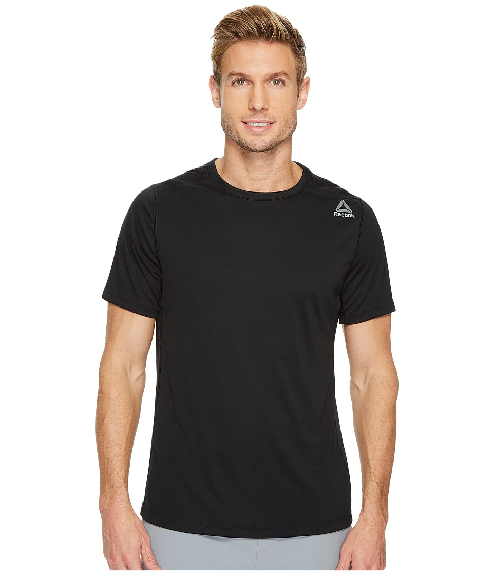 Reebok - Speedwick Tech Short Sleeve Tee (Black) Men's Workout