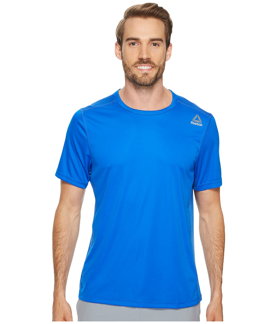 Reebok - Speedwick Tech Short Sleeve Tee (Vital Blue) Men's Workout