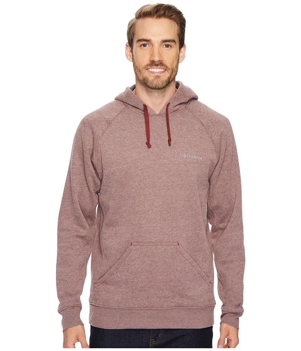 Columbia - Hart Mountaintm II Hoodie (Deep Rust Heather) Men's Sweatshirt