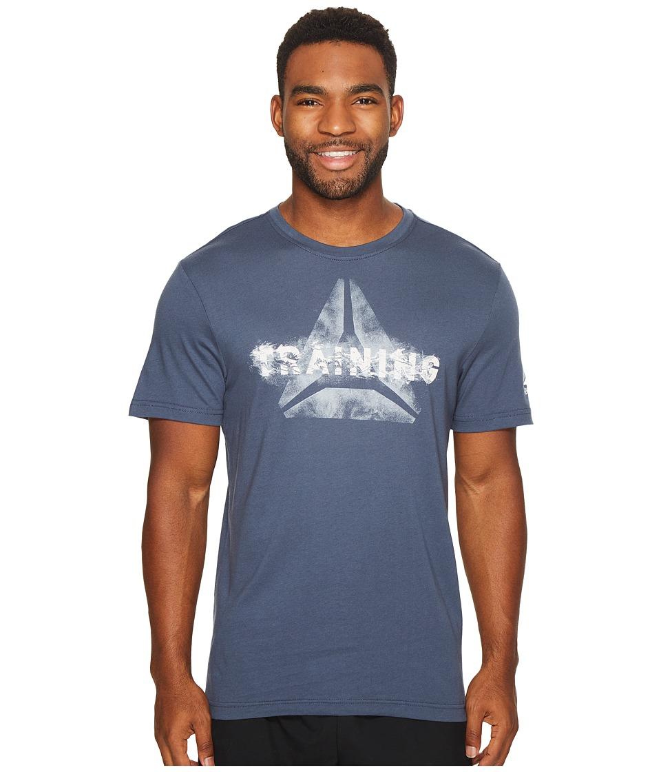 Reebok - Training Tee (Smoky Indigo) Men's T Shirt