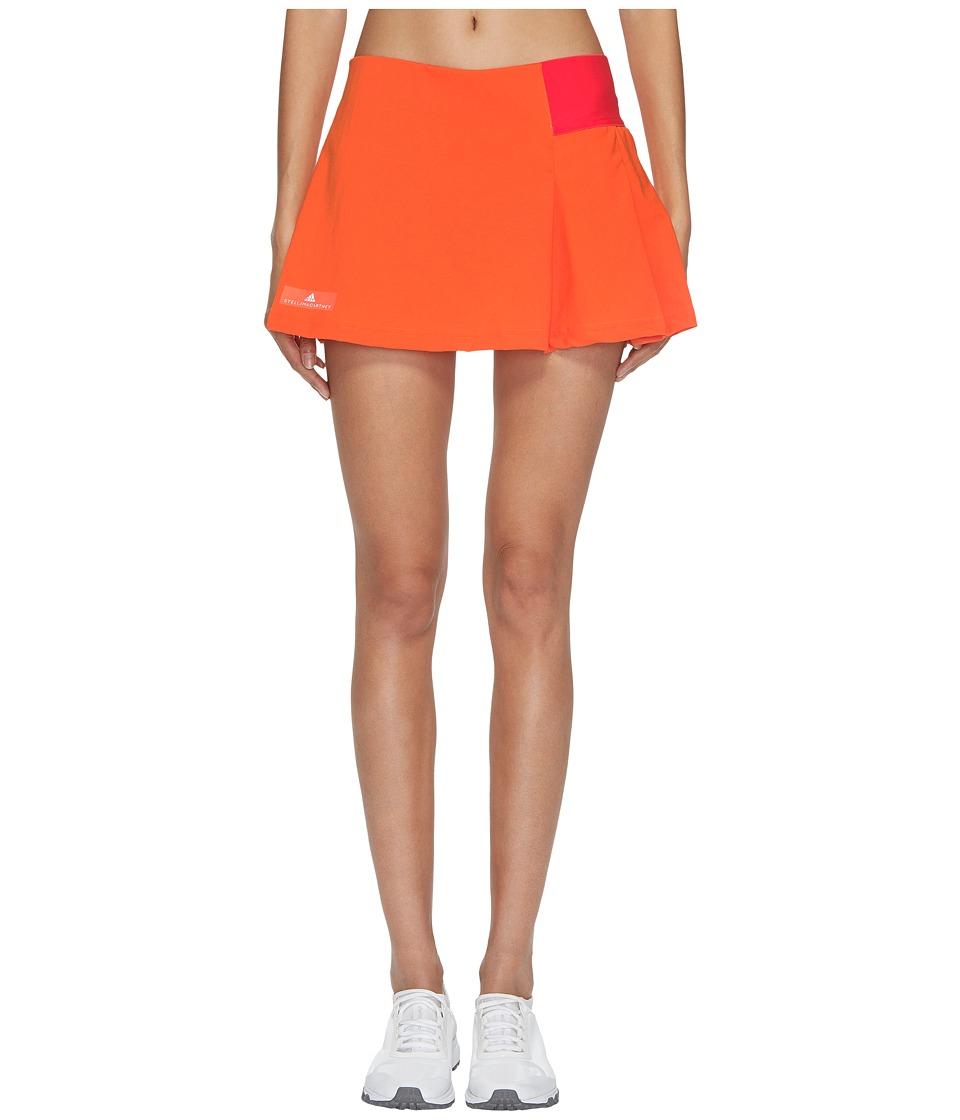 adidas Stella McCartney Barricade Skirt NY (Radiant Orange/Core Red) Women