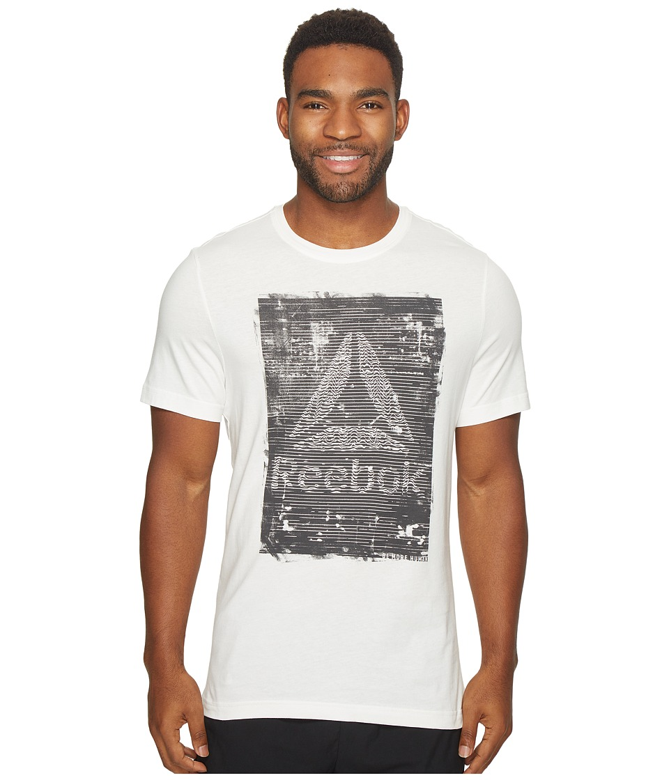 Reebok - Be More Human Tee (Chalk) Men's T Shirt
