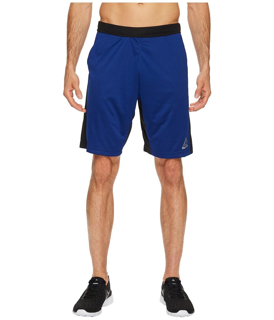 Reebok - Speedwick Knit Shorts (Deep Cobalt) Men's Shorts