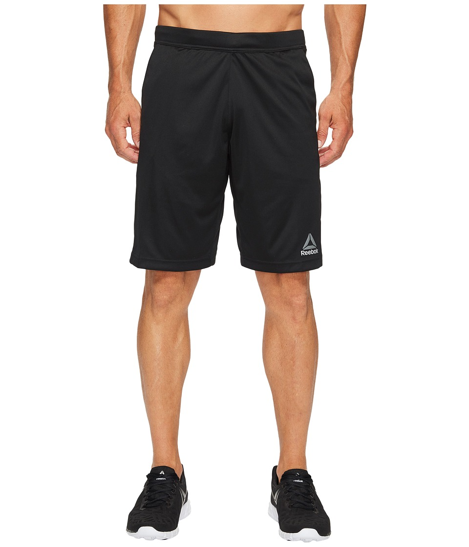 Reebok - Speedwick Knit Shorts (Black) Men's Shorts