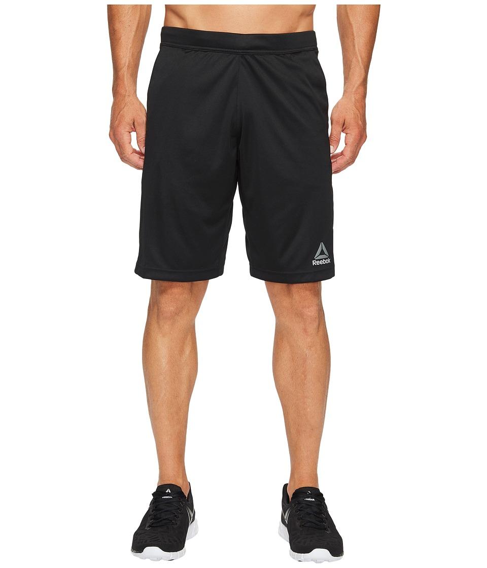 Reebok - Speedwick Knit Shorts (Black) Men's Shorts