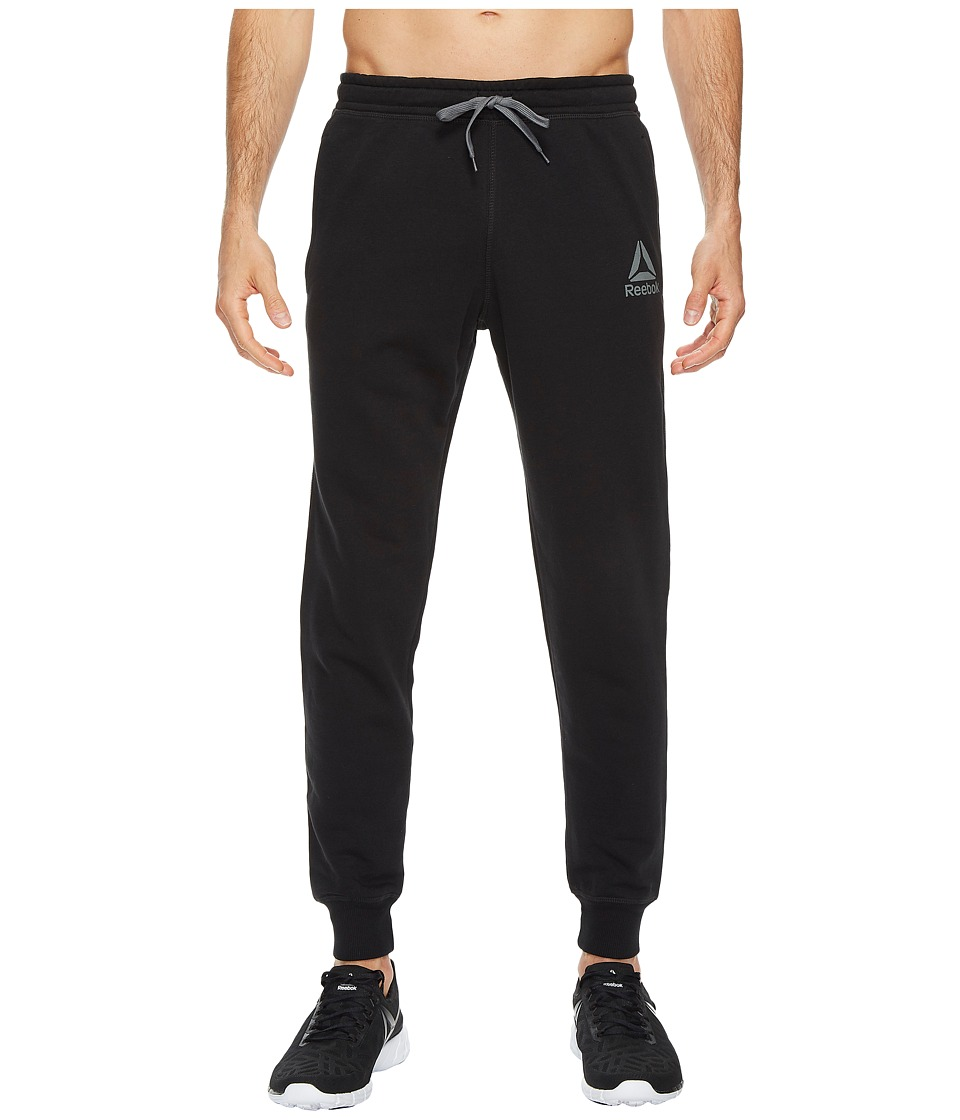 Reebok - French Terry Jogger (Black) Men's Casual Pants