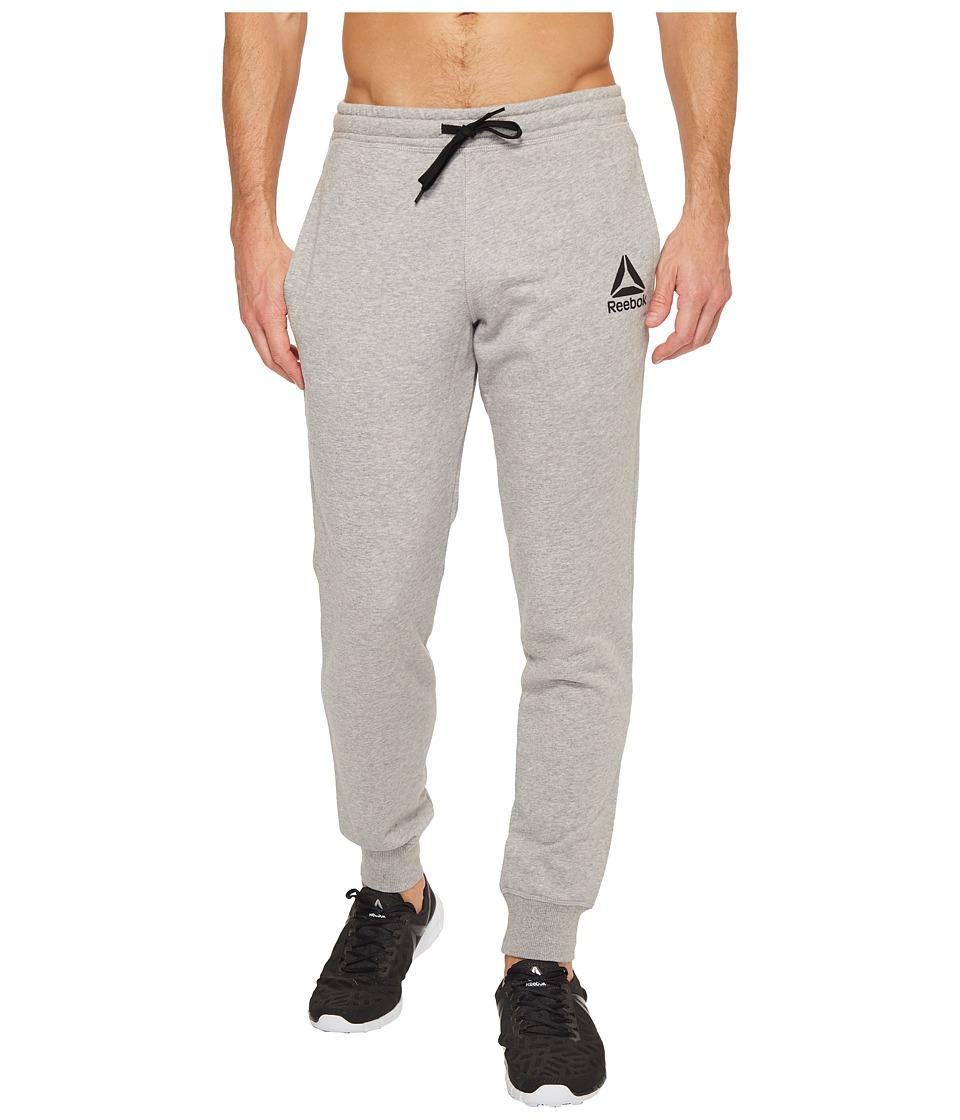 Reebok - French Terry Jogger (Medium Grey Heather) Men's Casual Pants