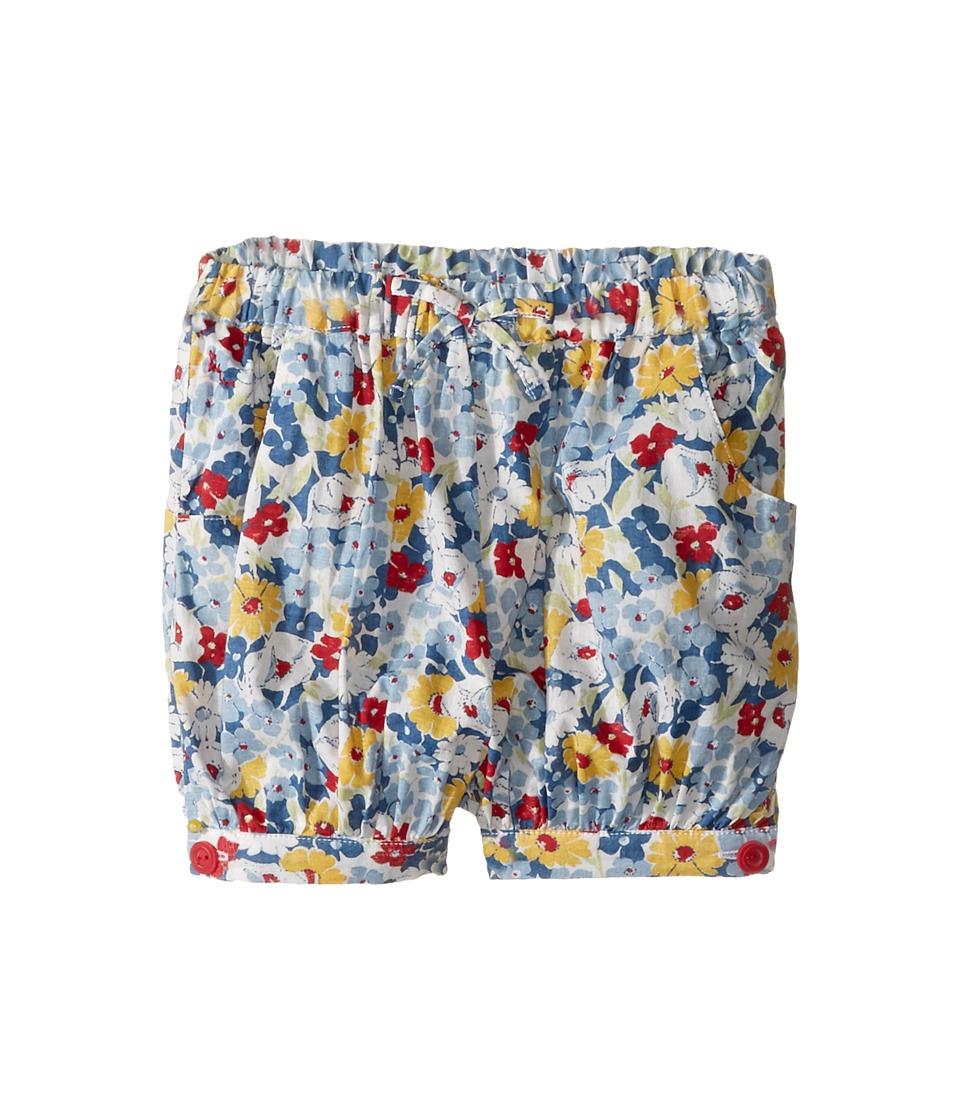 Ralph Lauren Baby - Viscose Crepe Floral Shorts (Infant) (Blue Multi) Girl's Shorts