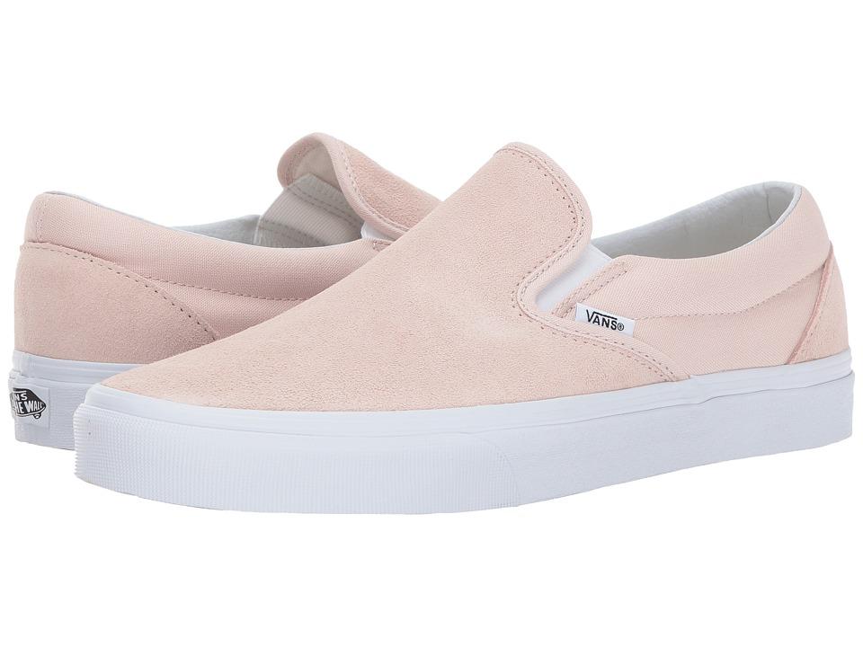 Vans - Classic Slip-Ontm ((Suede) Sepia Rose) Skate Shoes