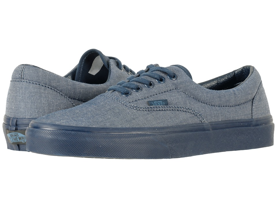 Vans - Eratm ((Mono Chambray) Navy/Navy) Skate Shoes