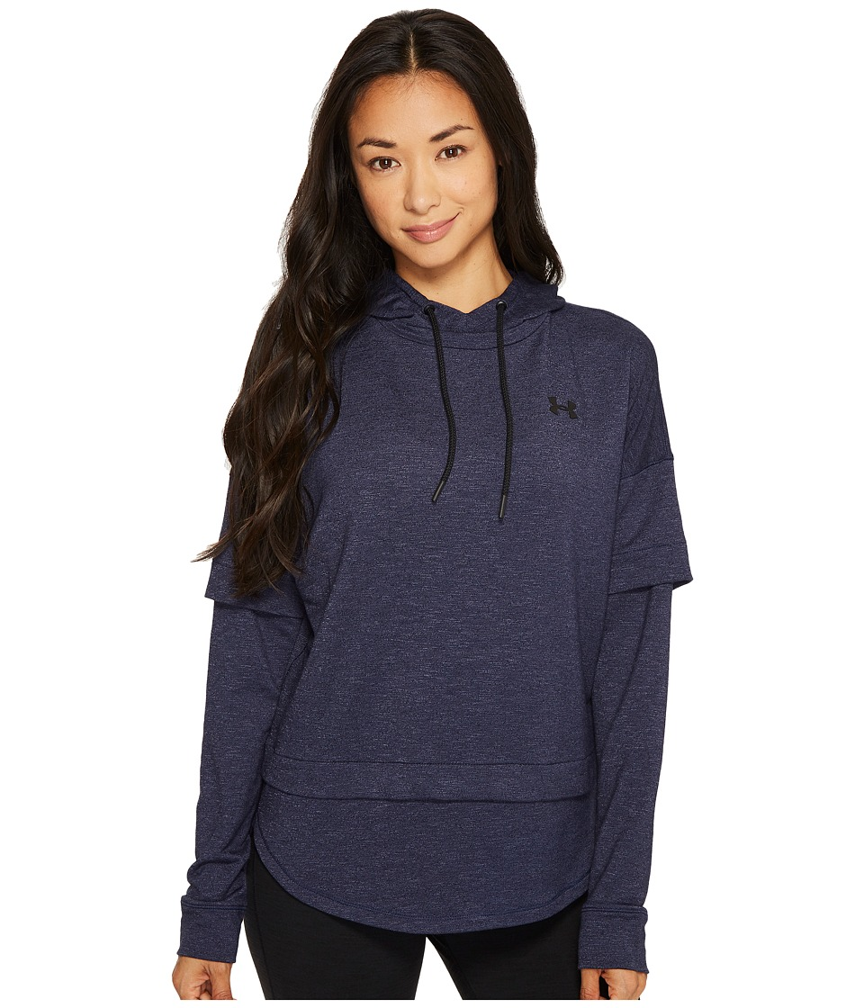Under Armour Featherweight Fleece 2-in-1 (Midnight Navy/Black) Women