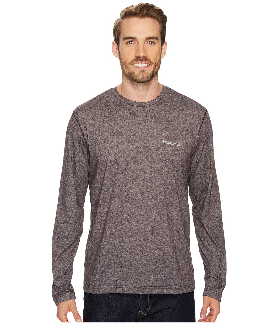 Columbia - Thistletown Parktm Long Sleeve Crew (New Cinder Heather) Men's Long Sleeve Pullover