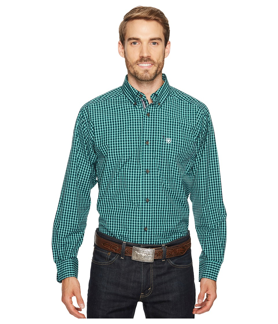 Ariat - Odem Shirt (Darkest Indigo) Men's Clothing