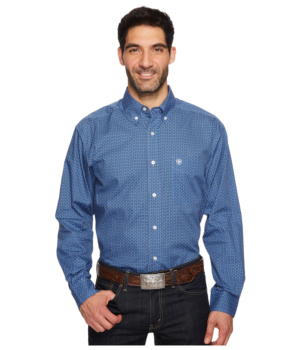 Ariat - Oldham Print Shirt (Multi) Men's Clothing