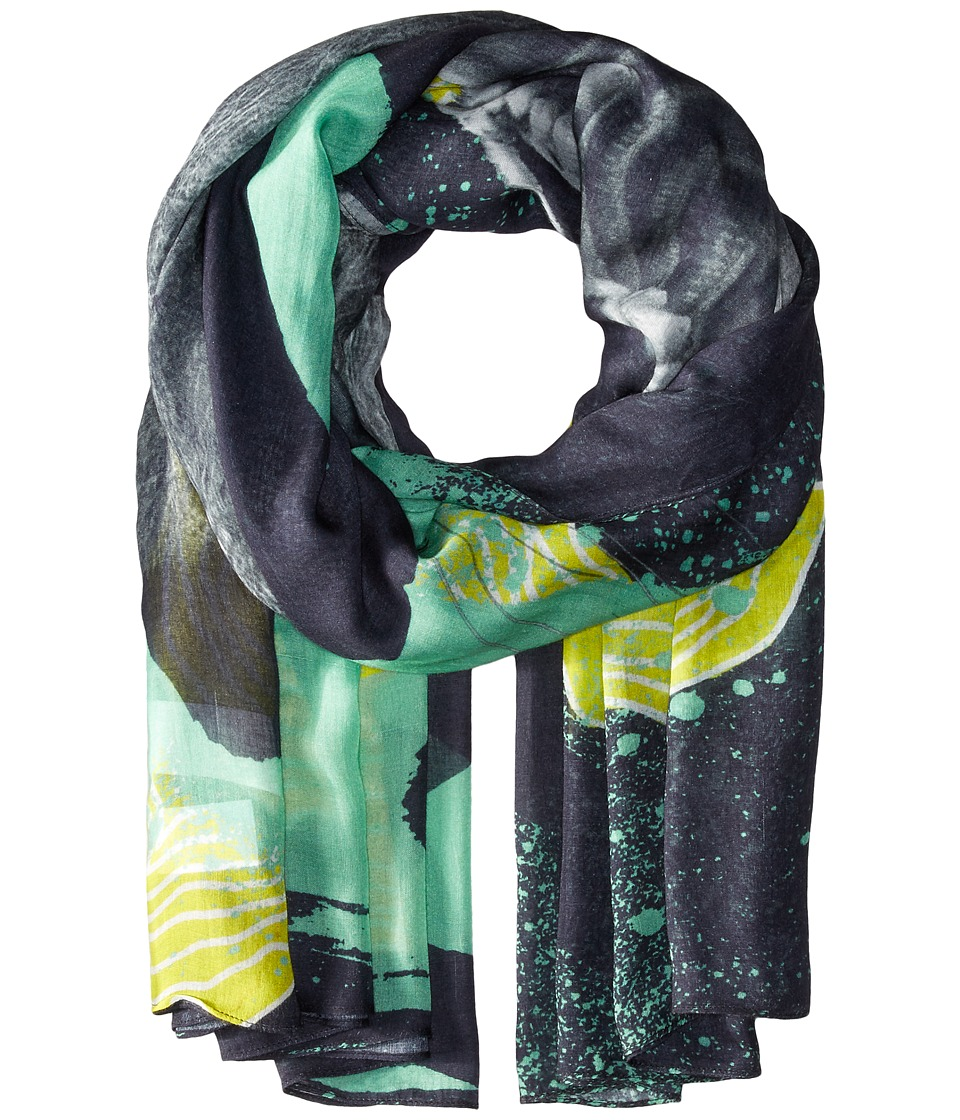 Liebeskind - F1179530 Modal Scarf (Flashing Yellow Lion) Scarves