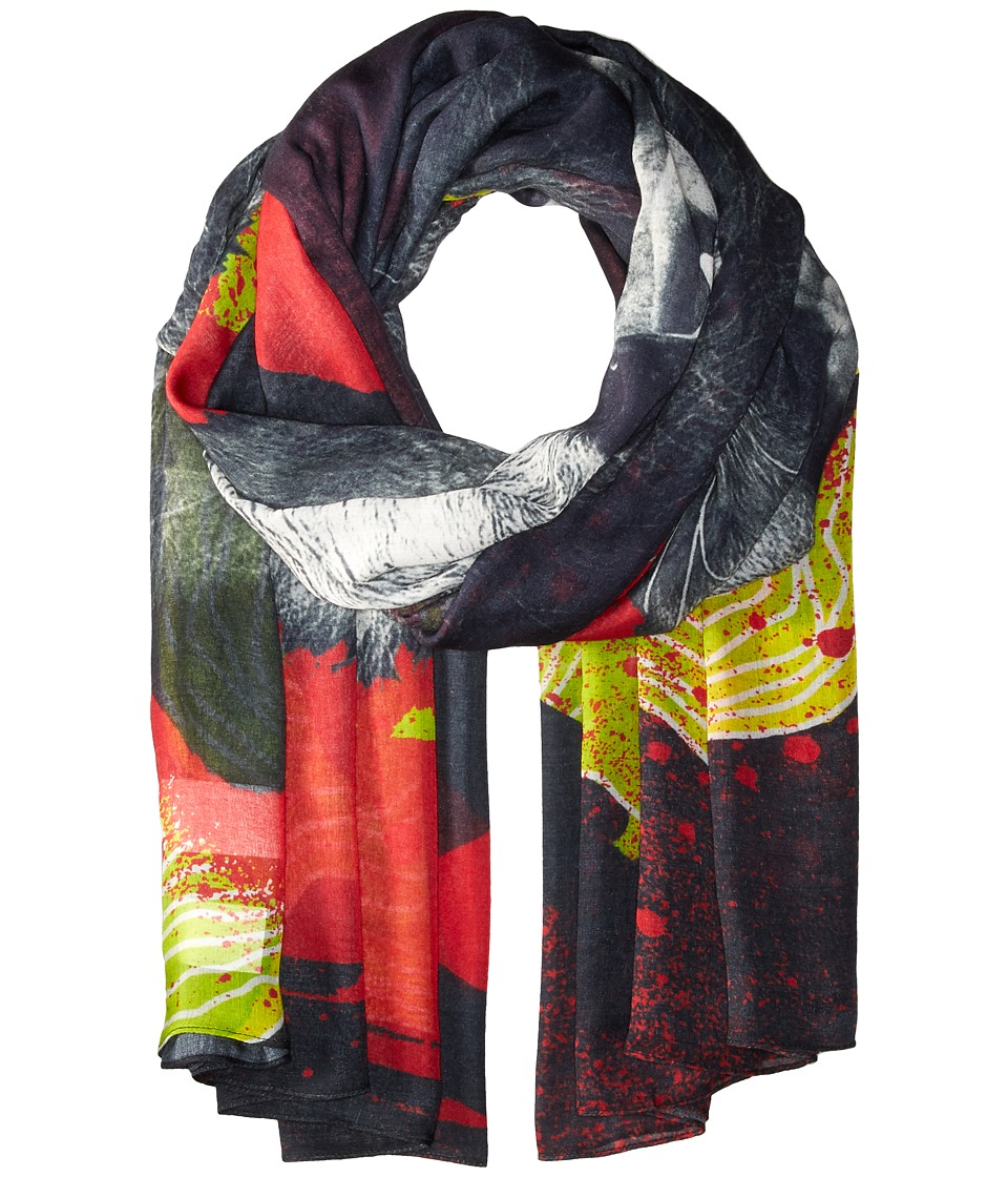 Liebeskind - F1179530 Modal Scarf (Reef Coral Lion) Scarves