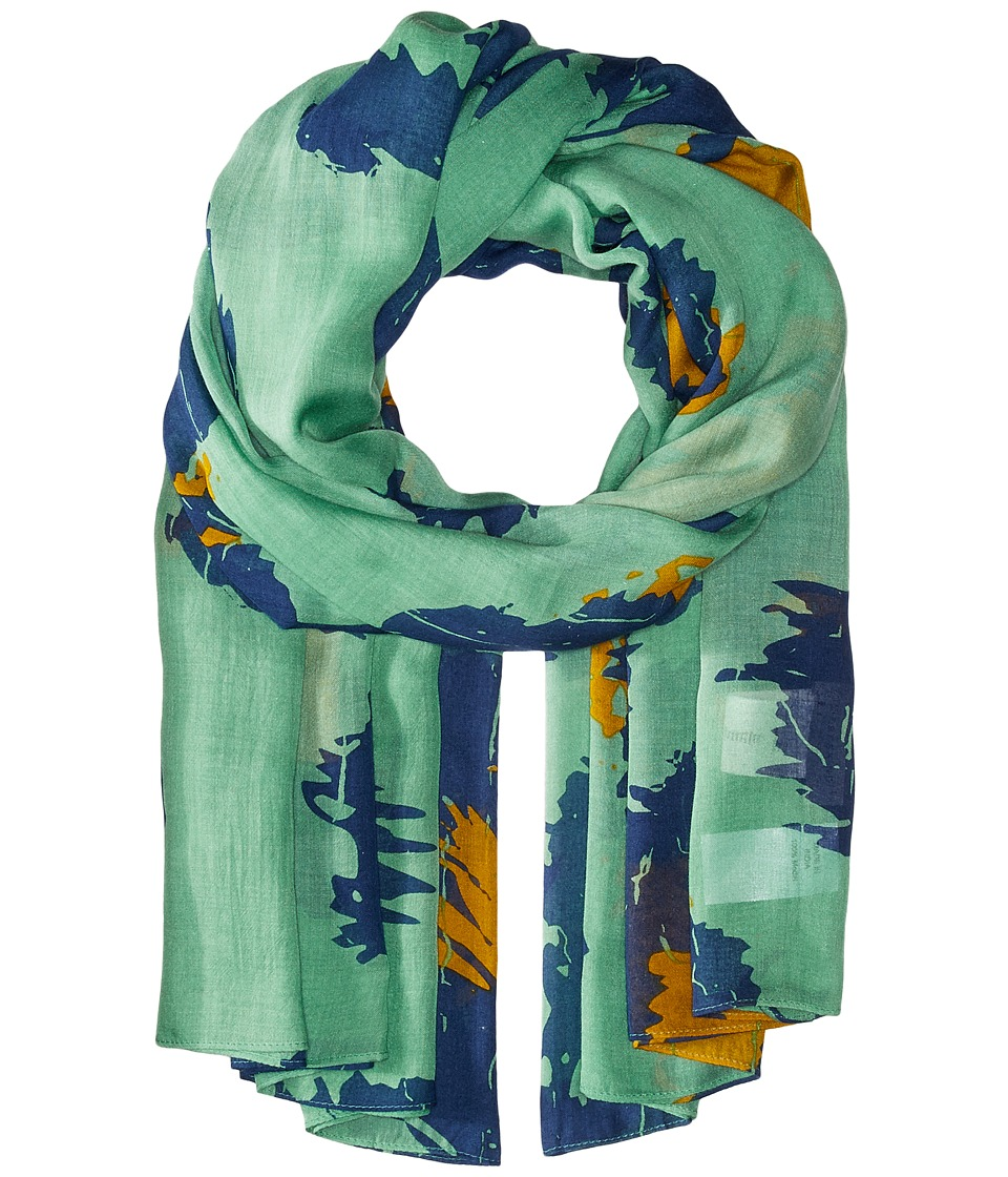 Liebeskind - F1179510 Modal Scarf (Orchid Green Leo) Scarves