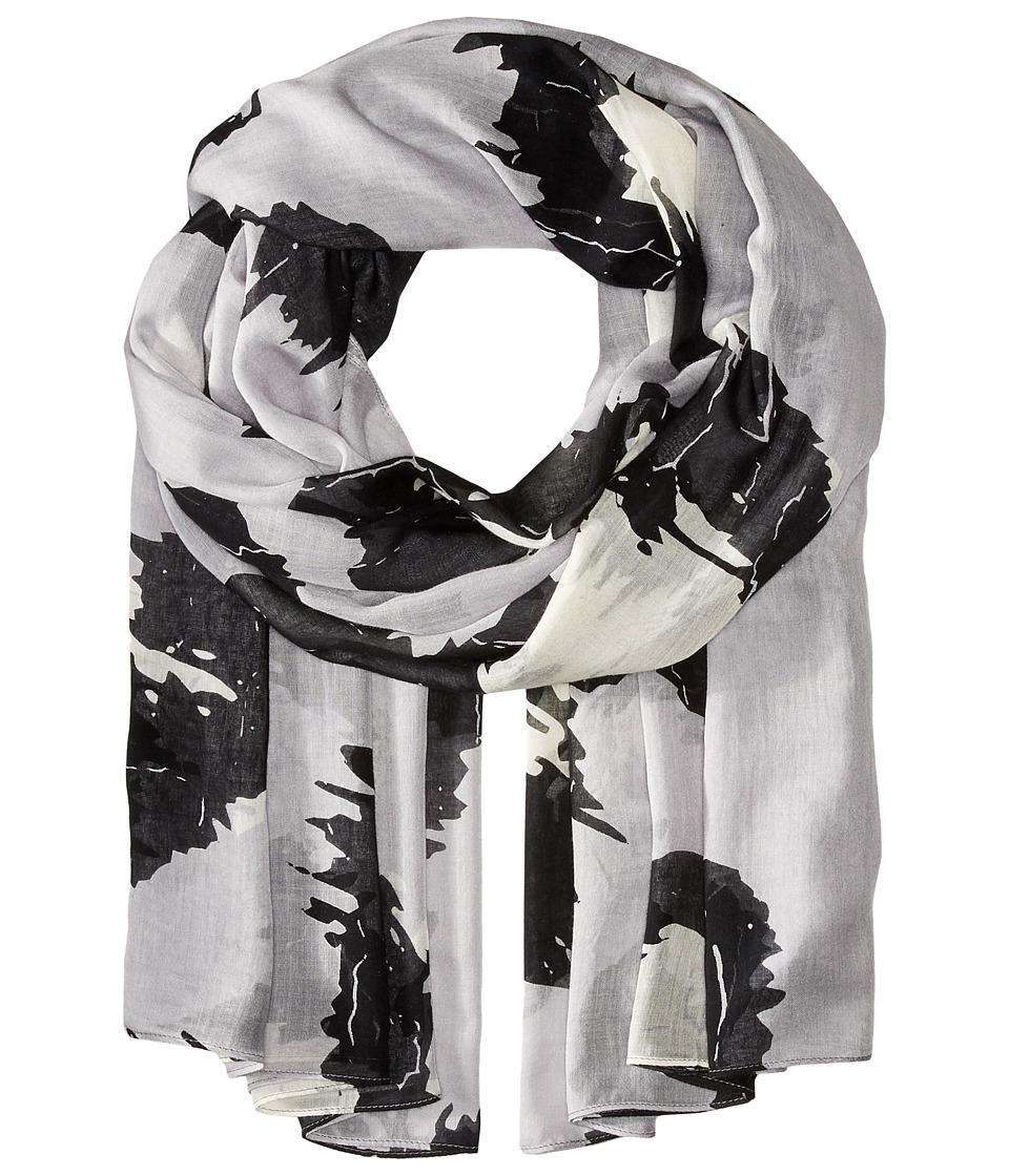 Liebeskind - F1179510 Modal Scarf (Elephant Grey Leo) Scarves