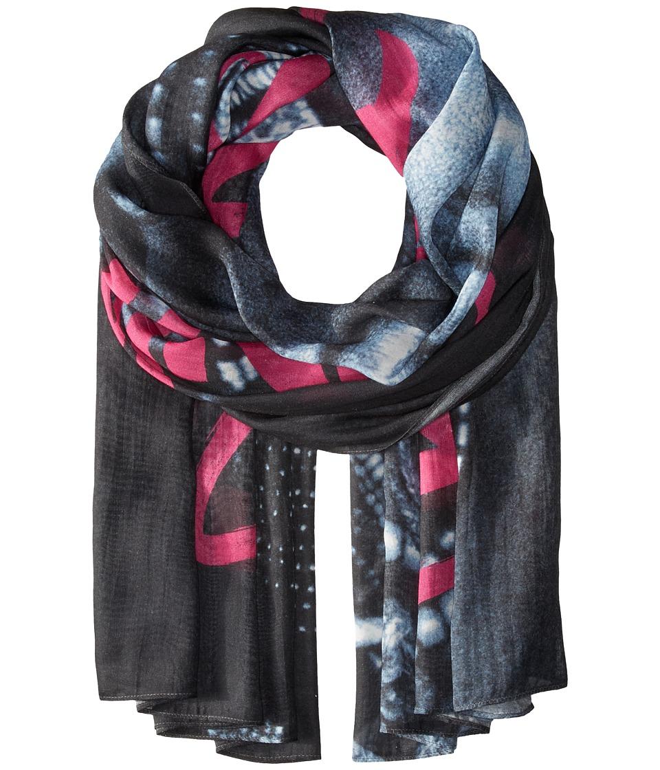 Liebeskind - F1179520 Modal Scarf (Fuchsia Pink Aziza) Scarves